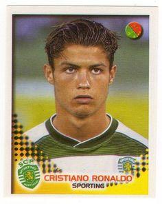 2002 Panini Futebol Cristiano Ronaldo