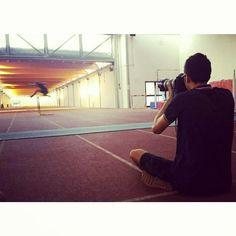 Lavori in corso...che starà combinando Andrea?  #studiosab #backstage #workinprogress #Athletics #hurdles #canon_official