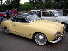 Yellow and Black Karmann Ghia