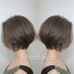 "It can not be repeated enough, bob is one of the most versatile looks ever. We wear with style the French ""bob"", a classic that gives your appearance a little je-ne-sais-quoi. Here is ""bob"" Despite its unpretentious… Continue Reading → Androgynous Haircut, Medium Hair Styles, Long Hair Styles, Asian Short Hair, Short Cut Hair, Shot Hair Styles, Short Bob Haircuts, Short Hair Cuts For Women, Hair Trends"