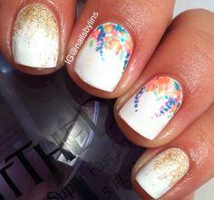 Some cute nail art
