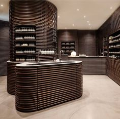 Aesop offers skin, hair and body care formulations created with meticulous attention to detail, and with efficacy and sensory pleasure in mind. Aesop Store, Beauty Table, Interior And Exterior, Interior Design, Wine Design, Door Wall, Home Fragrances, Commercial Design, Retail Design