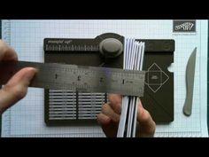 Tutorial für Stampin' Up! Envelope Punch Board - individuelle Boxen