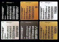 Fenzi Calendars, Massimo Vignelli