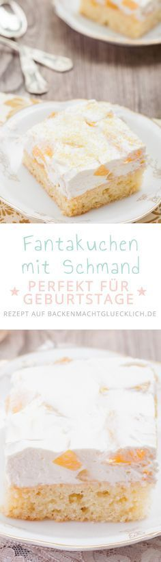 classic home decor homedecor home decor Fantakuchen mit Schmand vom Blech. Fr Kinder und Erwachsene, fr Geburtstage und Feiern *** Cake with Fanta and Cream - Great for every Party Baking Recipes, Cake Recipes, Dessert Recipes, Food Cakes, Cupcake Cakes, Sour Cream Cake, Sweet Bakery, Tasty, Yummy Food