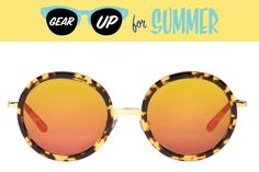 Gear Up for Summer: KREWE du Optics Louisa Sunglasses | CoastalLiving.com