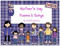 This is a book of Mother's Day 6 songs and poems just for mom! Use this book to teach your students the songs and poems to perform for their moms. ...