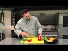 How to Julienne Bell Pepper