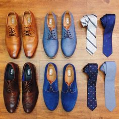 They say shoes make the man. But we think the right tie helps as well. With choices like this you can't go wrong.