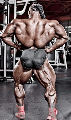 Kai Greene MUSCLE SHIELD Back Workout