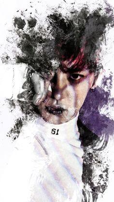 Chanyeol fanart Monster
