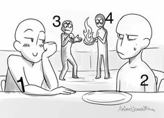 Draw the squad by AnimeLionessMika on DeviantArt. Drawing the Seven like dis Draw The Squad, Memes Arte, Art Memes, Drawing Challenge, Art Challenge, Drawing Templates, Drawing Sketches, Funny Drawings, Art Drawings