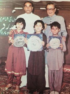 Hakim Mohammed Said (left rear), with an associate and some kids. International Health, Kids, Movie Posters, Movies, Young Children, Boys, Films, Film Poster, Cinema
