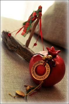 Christmas Fun, Xmas, Christmas Ornaments, Lucky Charm, Stencil, Ceramics, Holiday Decor, Gifts, Diy