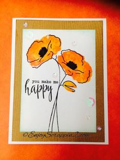 Aloha Guys! Today I'll be making a Clean and Simple card using the Altenew Painted Poppy stamp. I'll be using the Hero Arts Ombre ink along with Abandon cora...
