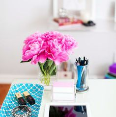 how to organize your at home office