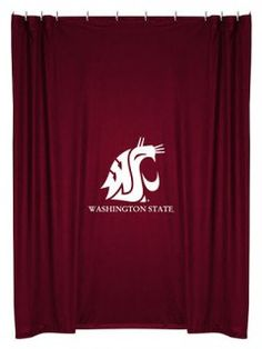 Washington State University Shower Curtain