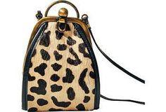 The cutest little leopard bag!