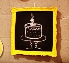 Quadro bolo