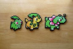 Pokemon Magnet Set by DelightfulEpiphany on Etsy