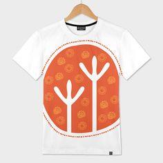Discover «Emu Tracks Australian Aboriginal Art», Limited Edition Men's All Over T-Shirt by Anna Lemos - From $49 - Curioos