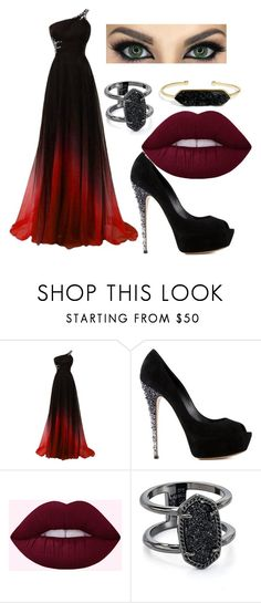 """""""Untitled #116"""" by weirdoqueen on Polyvore featuring Casadei, Kendra Scott and BaubleBar"""