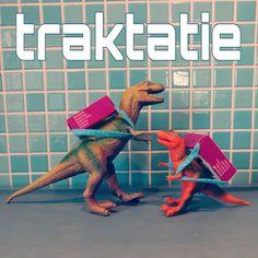 Traktatie voor school: dinosaurus met rozijnen-rugzakje #verjaardag #traktatie #gezond #birthday #treat #dinosaure #dino #leukmetkids @echthema