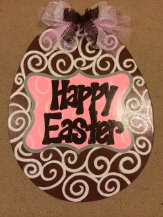 Hey, I found this really awesome Etsy listing at http://www.etsy.com/listing/175584787/chocolate-glittered-easter-egg-door