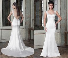 Free shipping, $124.82/Piece:buy wholesale cheap stain mermaid wedding dresses beading spaghetti straps 2016 backless Justin alexander 9806 vestido de noiva court train bridal gowns from DHgate.com,get worldwide delivery and buyer protection service.