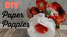 paper flowers, kids crafts, coffee filter flowers, recycle crafts