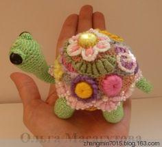 Ireland Little Turtle - florid teaser - florid ☆ teaser crocheted blog