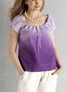 Liukuvärjää paita - Kotivinkki