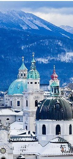 #Salzburg ,Austria. One of my favorite places. Everything and everybody about it is beautiful, laid back, and majestic.