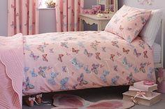 Embellished Butterfly Bed Set