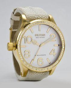 The most beautiful Nixon watch I have ever seeeeeeen. NEED!
