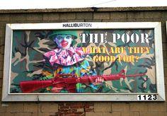 Ron English billboard...