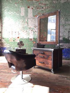 217 best hair salons and barber ideas images industrial bathroom rh pinterest com