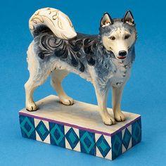 Alaska-Siberian Husky Figurine