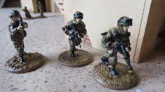 28mm French Modern Infantry -  - Eureka Miniatures