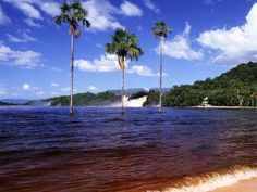 Canaima National Park, Venezuela.. beautiful place, stayed there for a week.