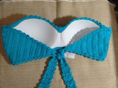 Tops A Crochet, Crochet Art, Easy Crochet, Crochet Patterns, Bikinis Crochet, Crochet Bikini Top, Crop Top Pattern, Bikini Pattern, Beautiful Crochet