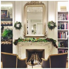 Fireplace Mantel - Club Monaco 5th Avenue 2015