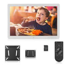 HD 1440900 LED Digitaler Bilderrahmen Fotorahmen Present & Camcorder Digital Foto, Digital Photo Frame, Camcorder, Led, How To Get, Google Search, Pictures, Alarm Clocks, Remote