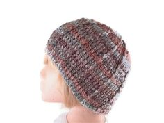 Unisex Crochet Hat in Browns and Greens by UniquelyYourDesigns, £12.00