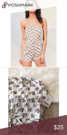 NWT Urban Outfitters Beach Babe Romper Brand is Out From Under, sold at Urban Outfitters. New with tags. Urban Outfitters Pants Jumpsuits & Rompers