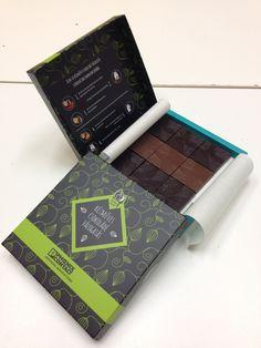 Egyedi csomagolású csokoládé válogatás