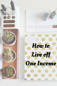 Budget - Frugal Living- Saving Money - How to Live off One Income