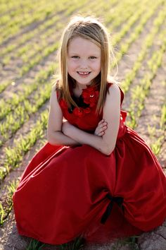Red Chloe Dress
