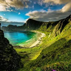 Norway, Hidden Beach