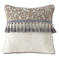 Croscill Alexandria Fashion Throw Pillow - 2S0-582H0-1277/990